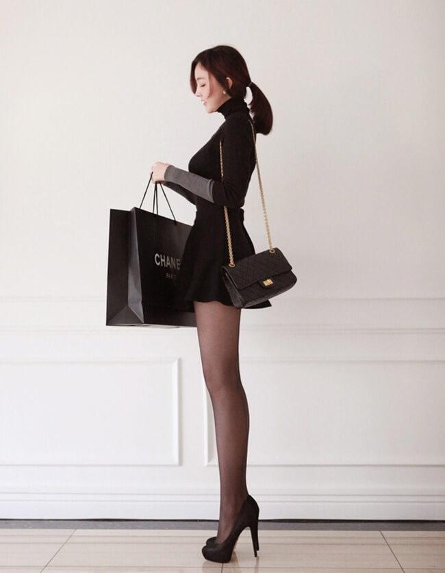 chanel_girl 黒いシャネルを纏った少女