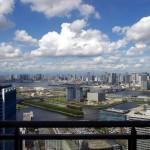 東雲のタワーマンション180mからの眺望