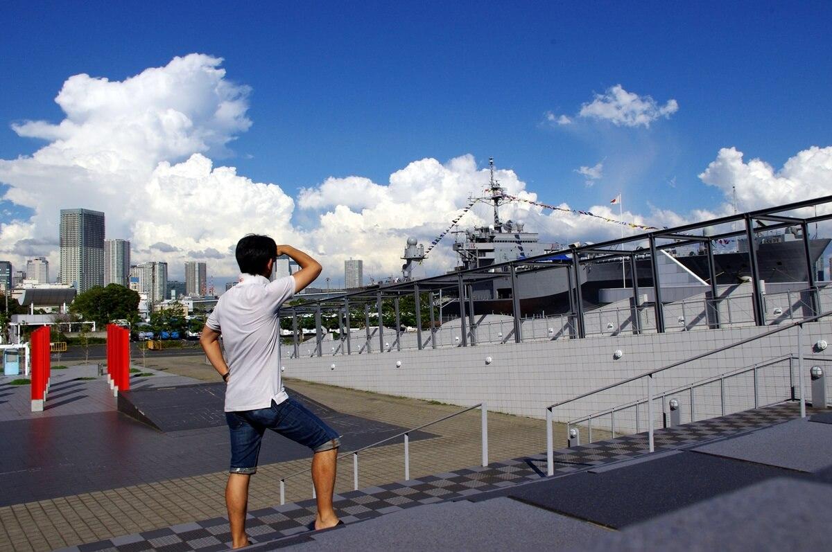 晴海客船ターミナルのパトロール (31)