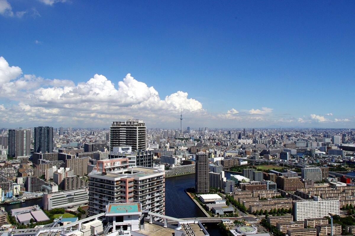 都内屈指の絶景ポイント:東雲のタワーマンション180mから見る東京スカイツリー  tokyo sky tree  from shinonome  tower manshion (7)