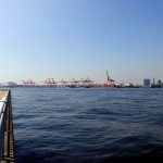 東京港のキリンさん。