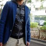再チャレンジ!AKM x DUVETICAのダウンベストをINしてジャストサイズのジャケットは着れるのか?