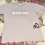 不必要になったTシャツの再利用方法。