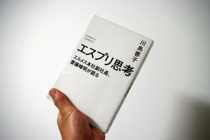 エスプリ思考: エルメス本社副社長、齋藤峰明が語る [単行本] 川島 蓉子 (著)