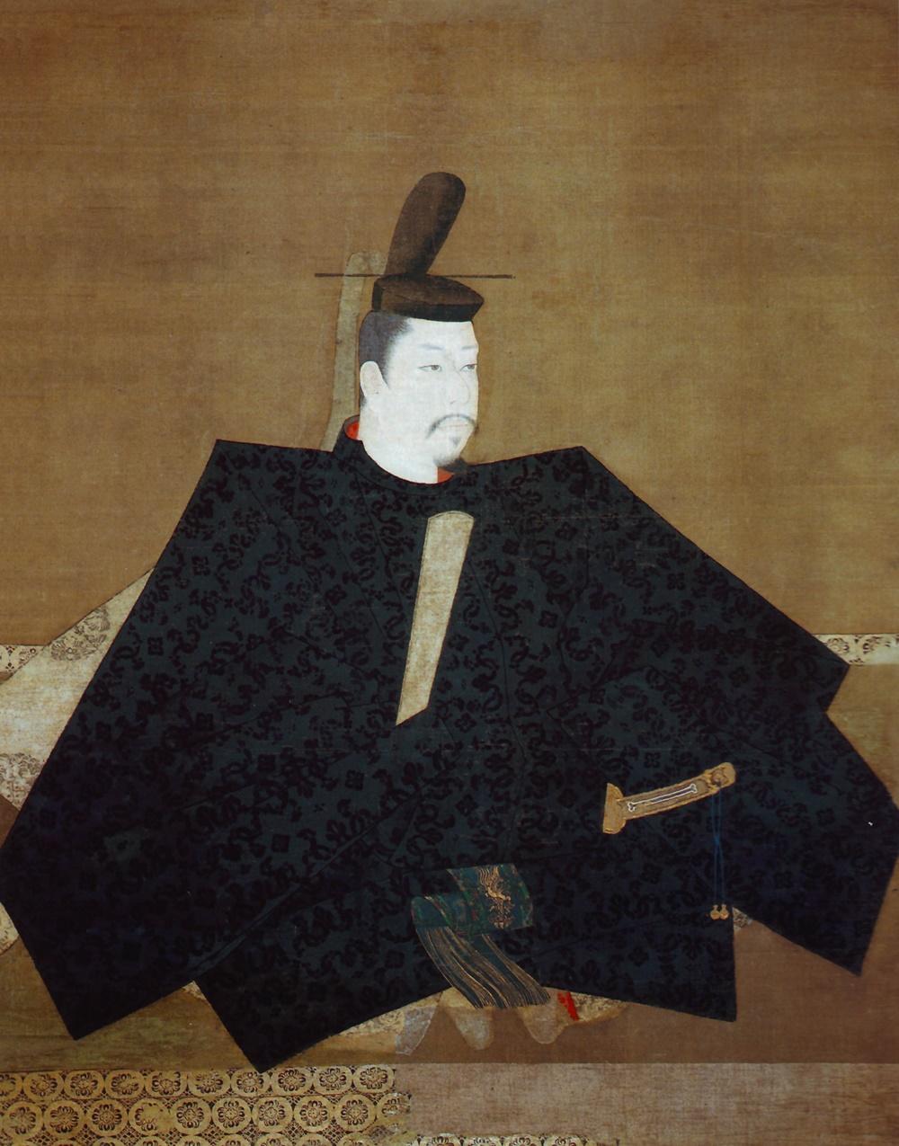 Minamoto_no_Yoritomo 源頼朝 伝源頼朝像 神護寺蔵