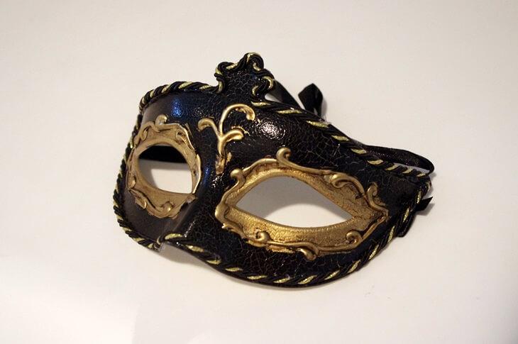 Venetian mask ベネチアンマスク
