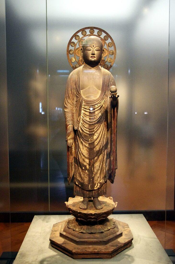 浄瑠璃寺蔵 地蔵菩薩立像 重文