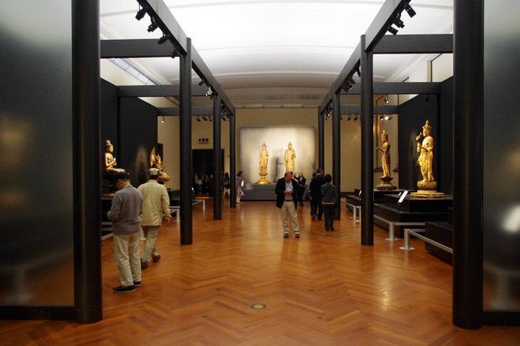 東京国立博物館本館彫刻