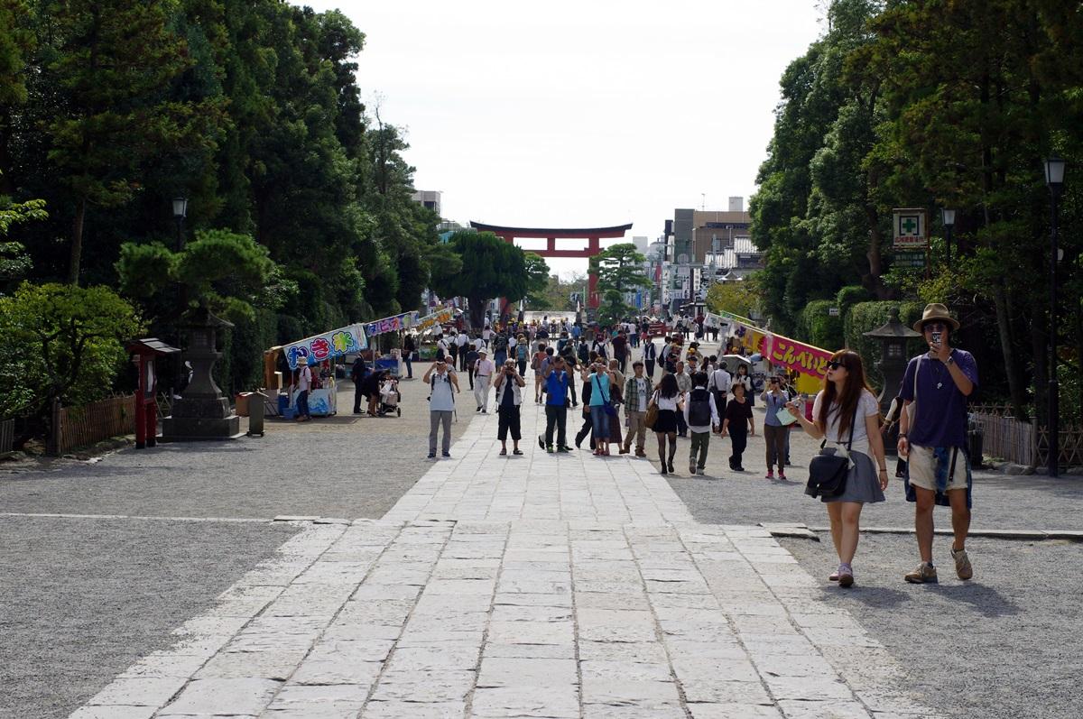 鎌倉 鶴岡八幡宮 (7)