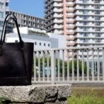 金子薫トートバッグの一時帰省。