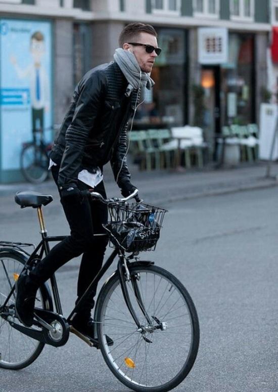 自転車に乗るファッショニスタたち。Part.5
