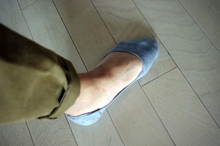 B.C STOCK INSTEP ローファーMIX ベリーショート靴下