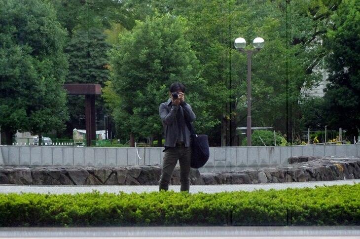東京国立博物館 自撮り