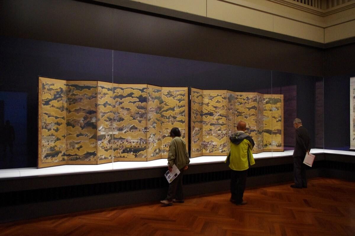東京国立博物館 本館 京都―洛中洛外図