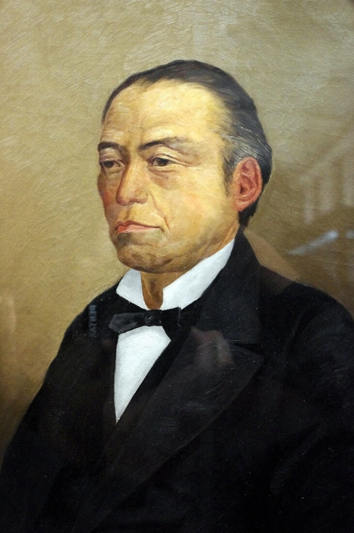 東京国立博物館 岩倉具視肖像画