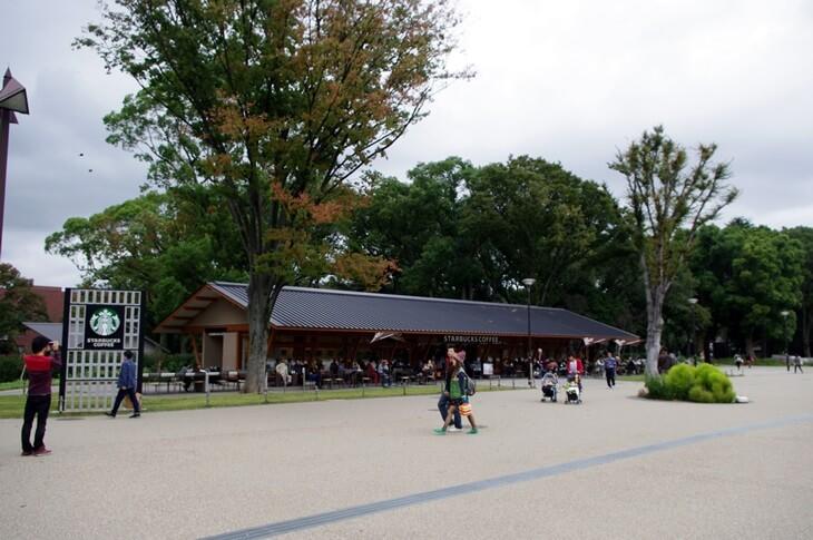 上野恩賜公園 スターバックス
