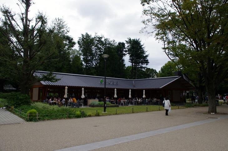 上野恩賜公園 パークサイドカフェ PARK SIDE CAFE