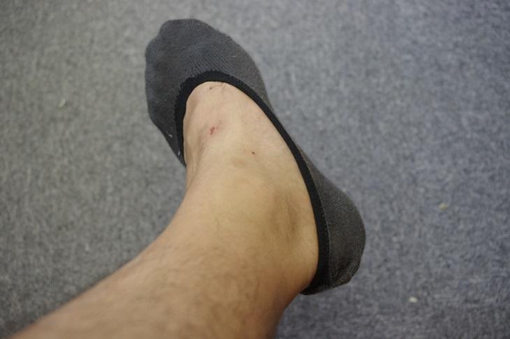 ユニクロ ベリーショート靴下