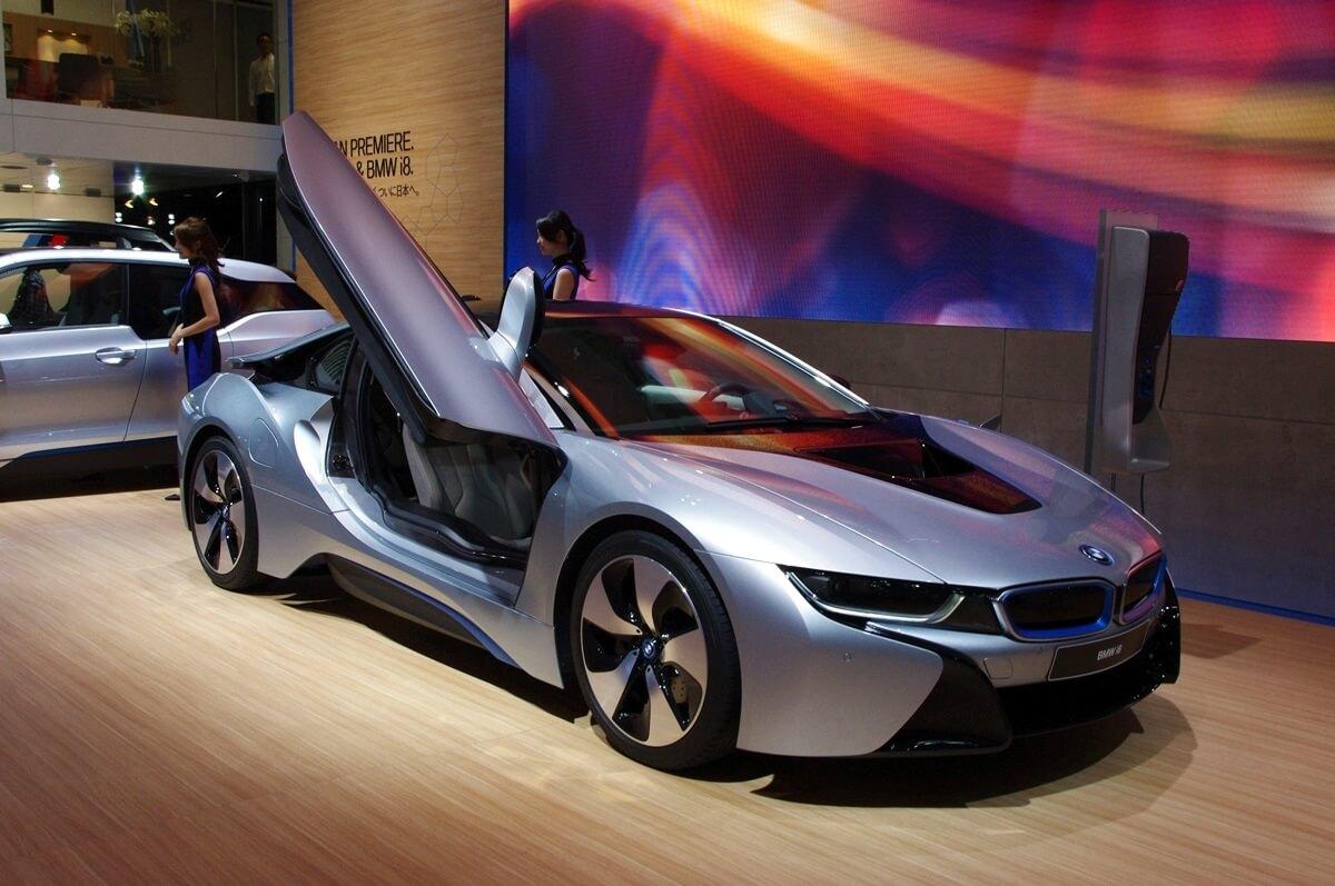 東京モーターショー2013 BMWi8