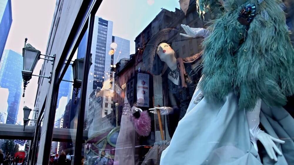 ウィンドーディスプレー ニューヨーク・バーグドルフ 魔法のデパート (3)