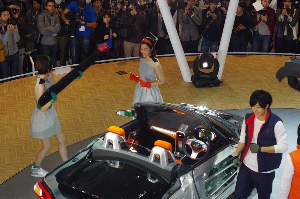 東京モーターショー2013 ダイハツ コペン DAIHATSU COPEN (4)