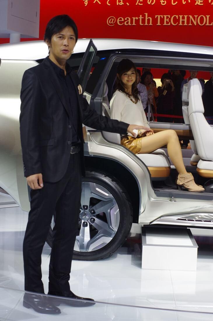 東京モーターショー2013 三菱自動車 MITSUBISHI Concept GC-PHEV (3)