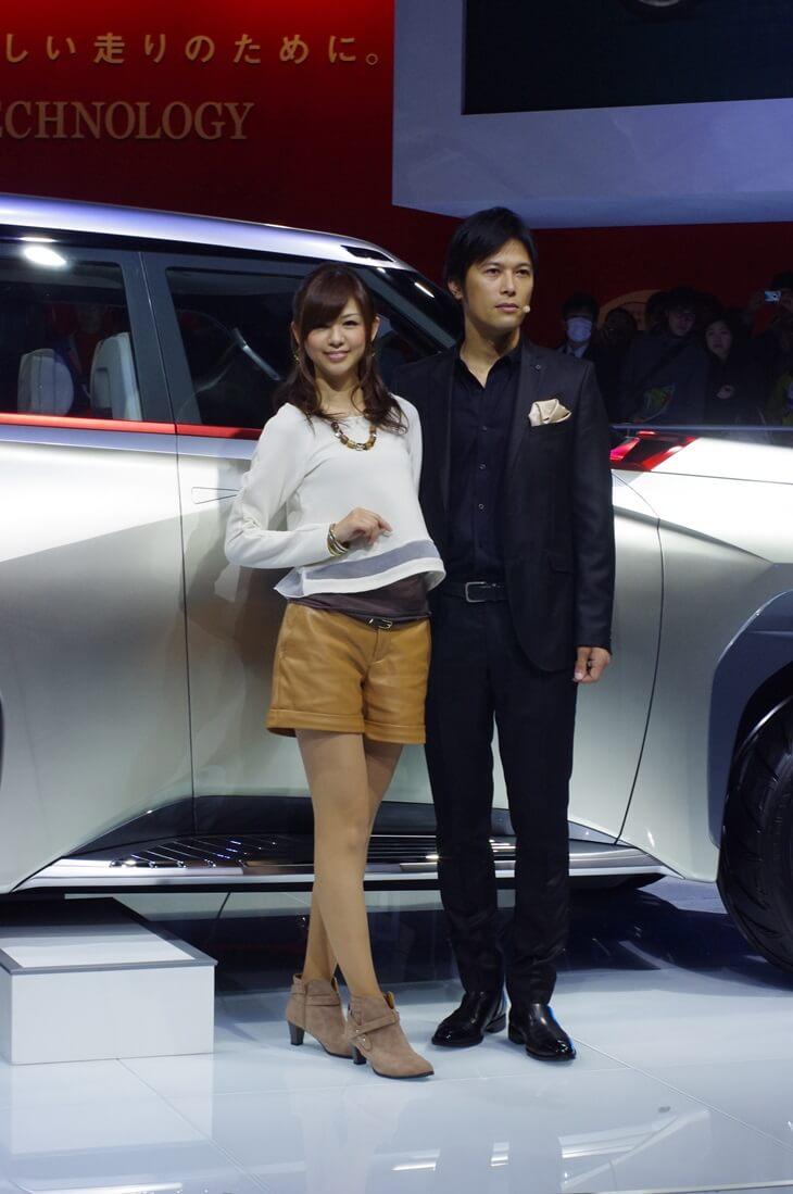 東京モーターショー2013 三菱自動車 MITSUBISHI Concept GC-PHEV