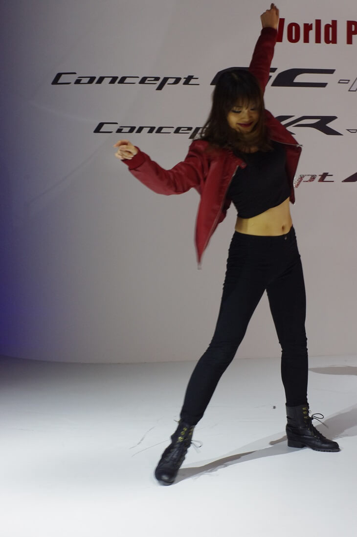 東京モーターショー 三菱自動車 ダンサー MITSUBISHI Concept XR-PHEV (5)