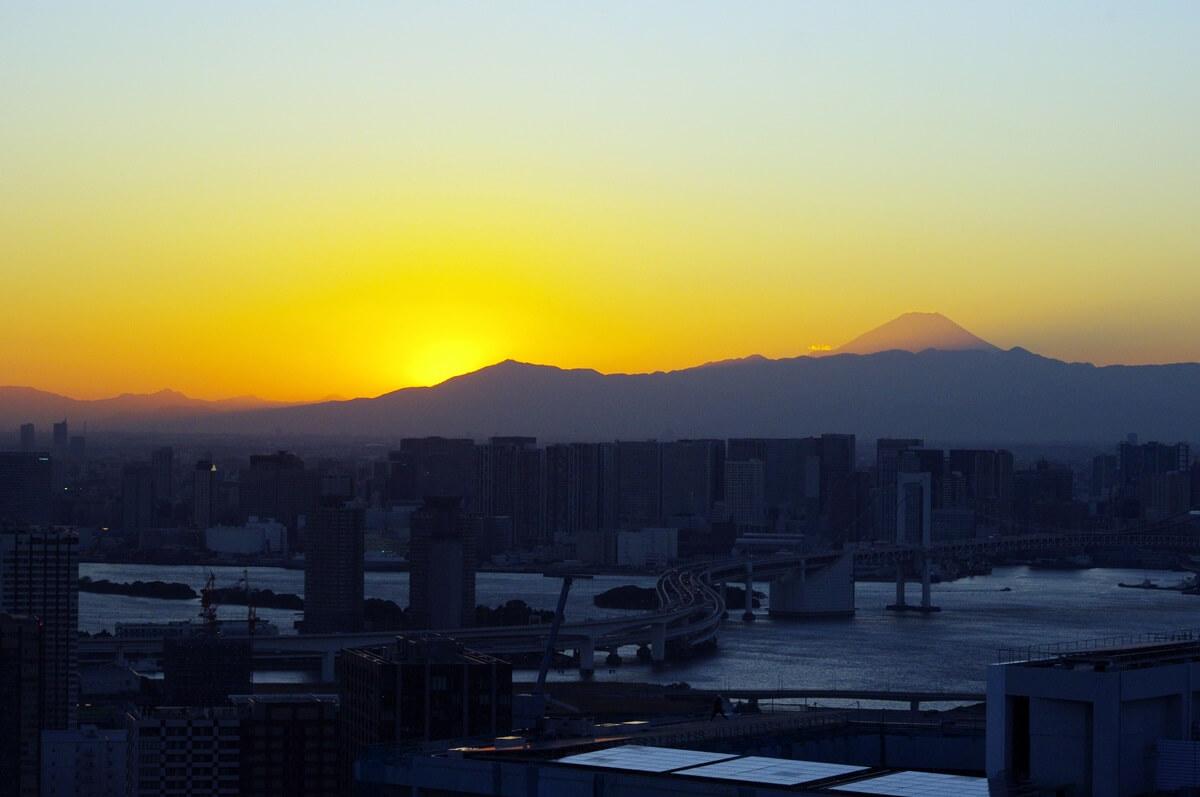 夕暮れの富士山 Mount Fuji (1)