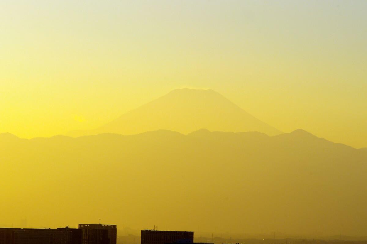 夕暮れの富士山 Mount Fuji (2)