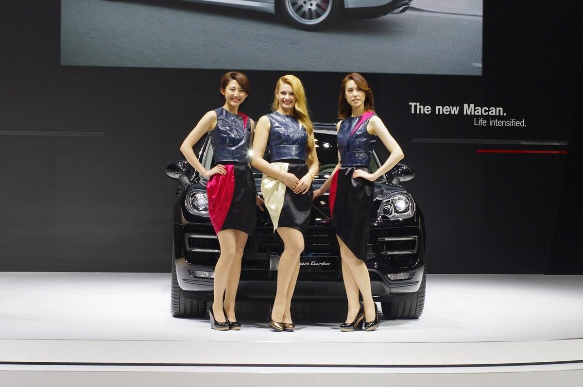 東京モーターショー2013 ポルシェ コンパニオン Porsche (2)