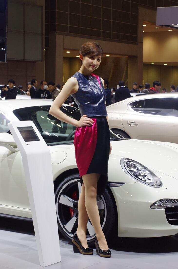 東京モーターショー2013 ポルシェ コンパニオン Porsche (4)