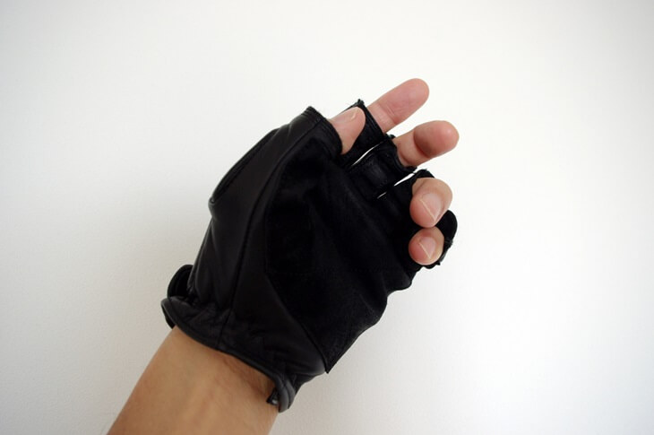 S&Graf COBRA BALL US.SWATタクティカル革グローブ(フィンガーレス手袋) (2)