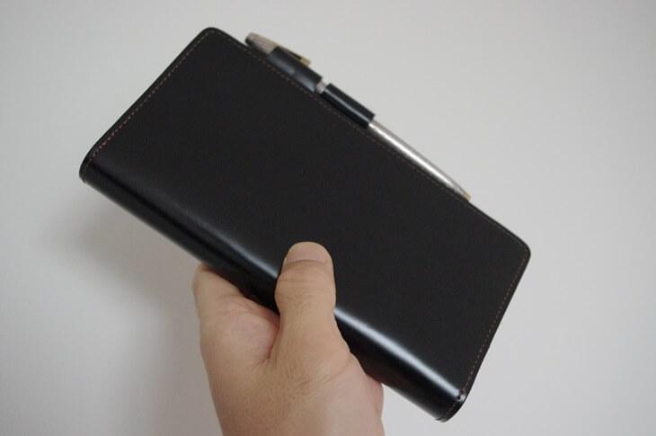 ボッテガ92 コードバンシステム手帳 bottega92 cordvan note