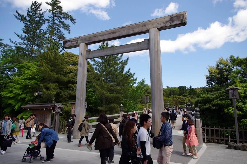 伊勢神宮内宮 (1)