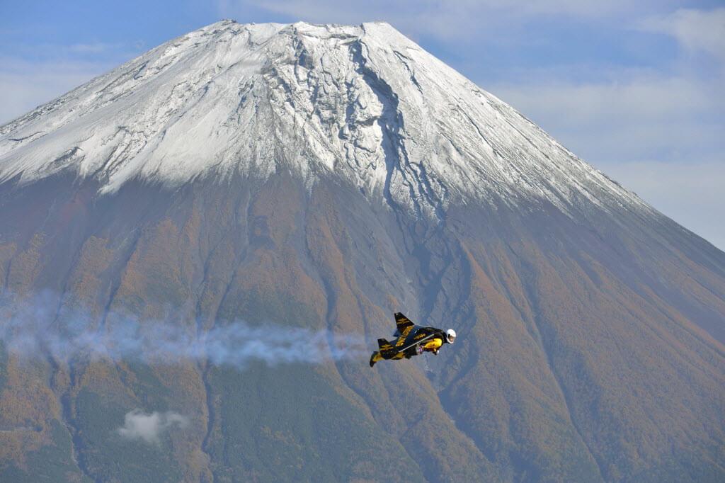 富士山を飛ぶ鳥人ジェットマン(6)