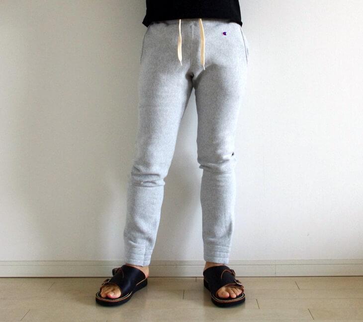ジュンハシモト x チャンピョン コラボスウェットパンツ junhashimoto × Champion_swetpants (1)