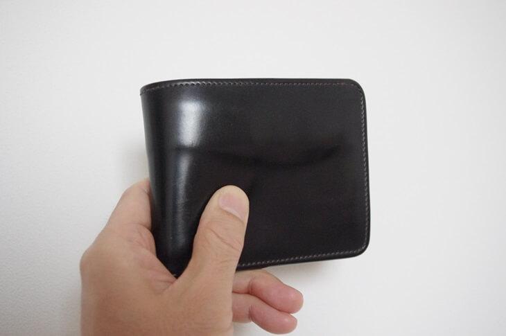 ワイルドスワンズコードバン二つ折り財布 wildswands cordvan wallet