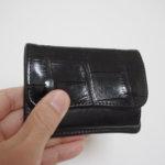 恒例のクロコからコードバンへのWILD SWANSお財布衣替え、そして最強の手袋早くも活躍中。