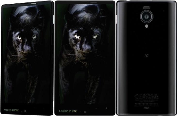 ソフトバンク アクオスフォンAQUOS PHONE Xx 302SH SoftBank (1)