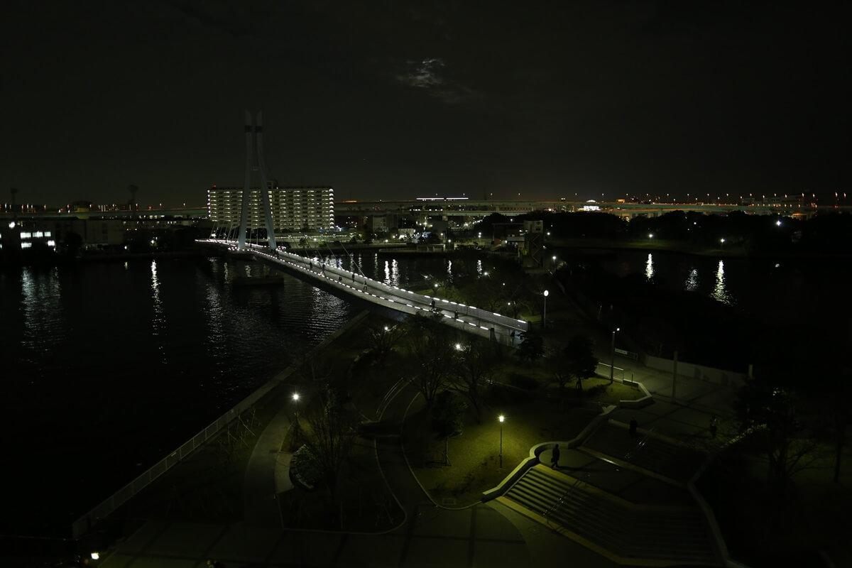 キャノン 単焦点レンズ 夜景 Canon EF24mm F1.4L II USM (8)