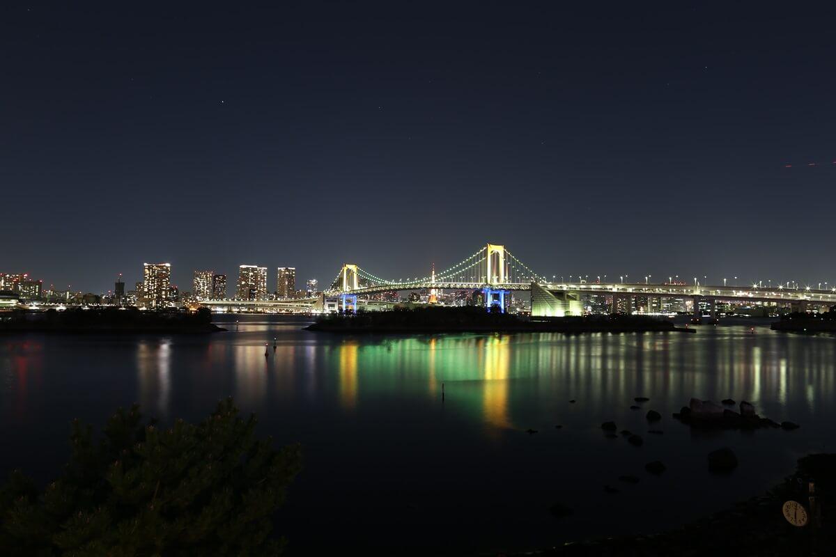 レインボーブリッジ夜景 (1)