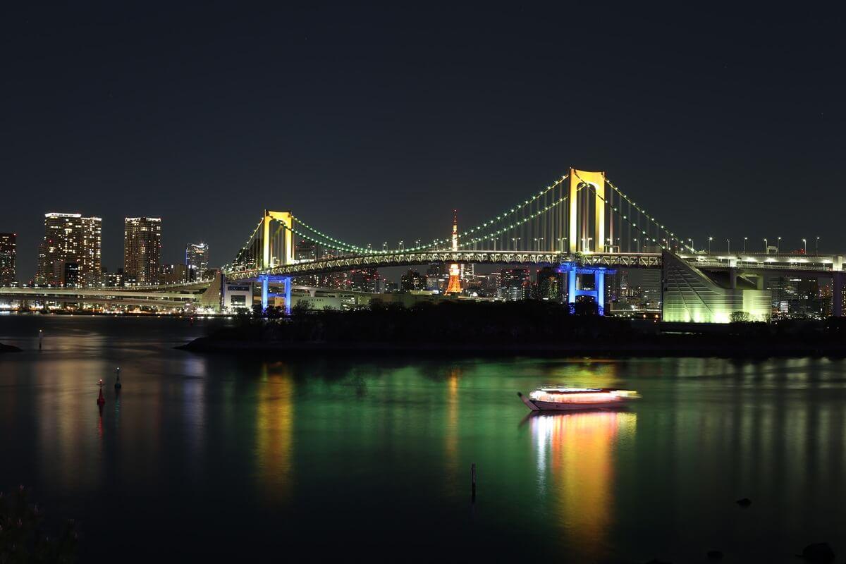 レインボーブリッジ夜景 (3)