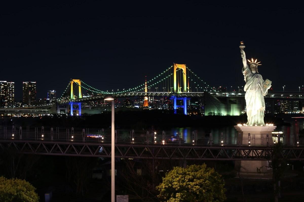 レインボーブリッジ夜景 (4)