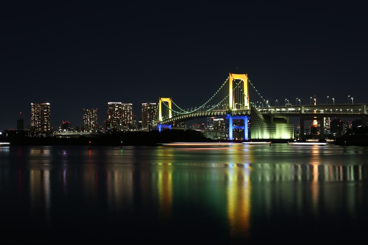 レインボーブリッジ夜景 (5)