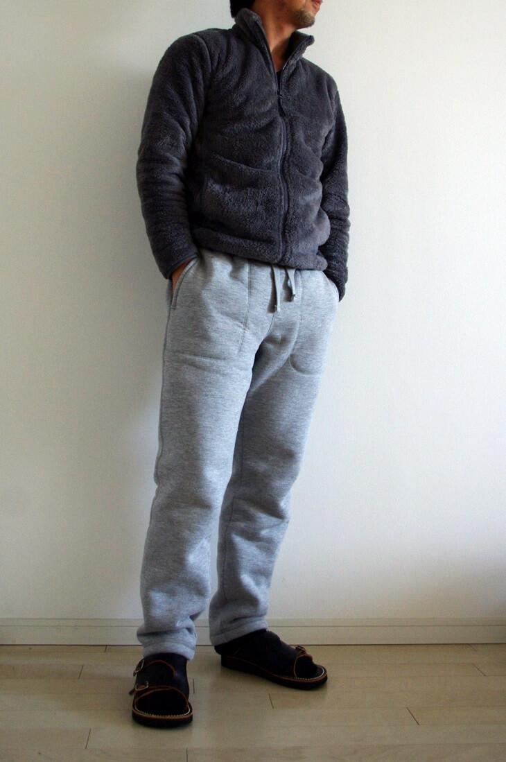 ユニクロ スウェットボアパンツ & フリースフルジップジャケット