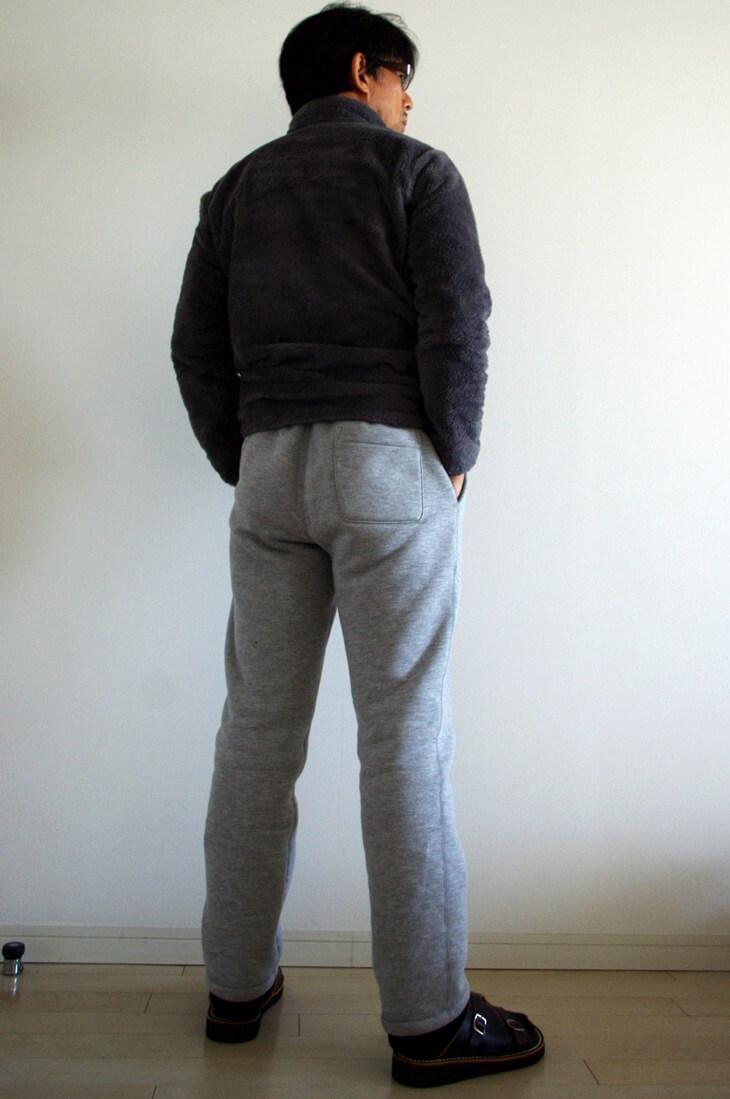 UNIQLO ユニクロ スウェットボアパンツ & フリースフルジップジャケット