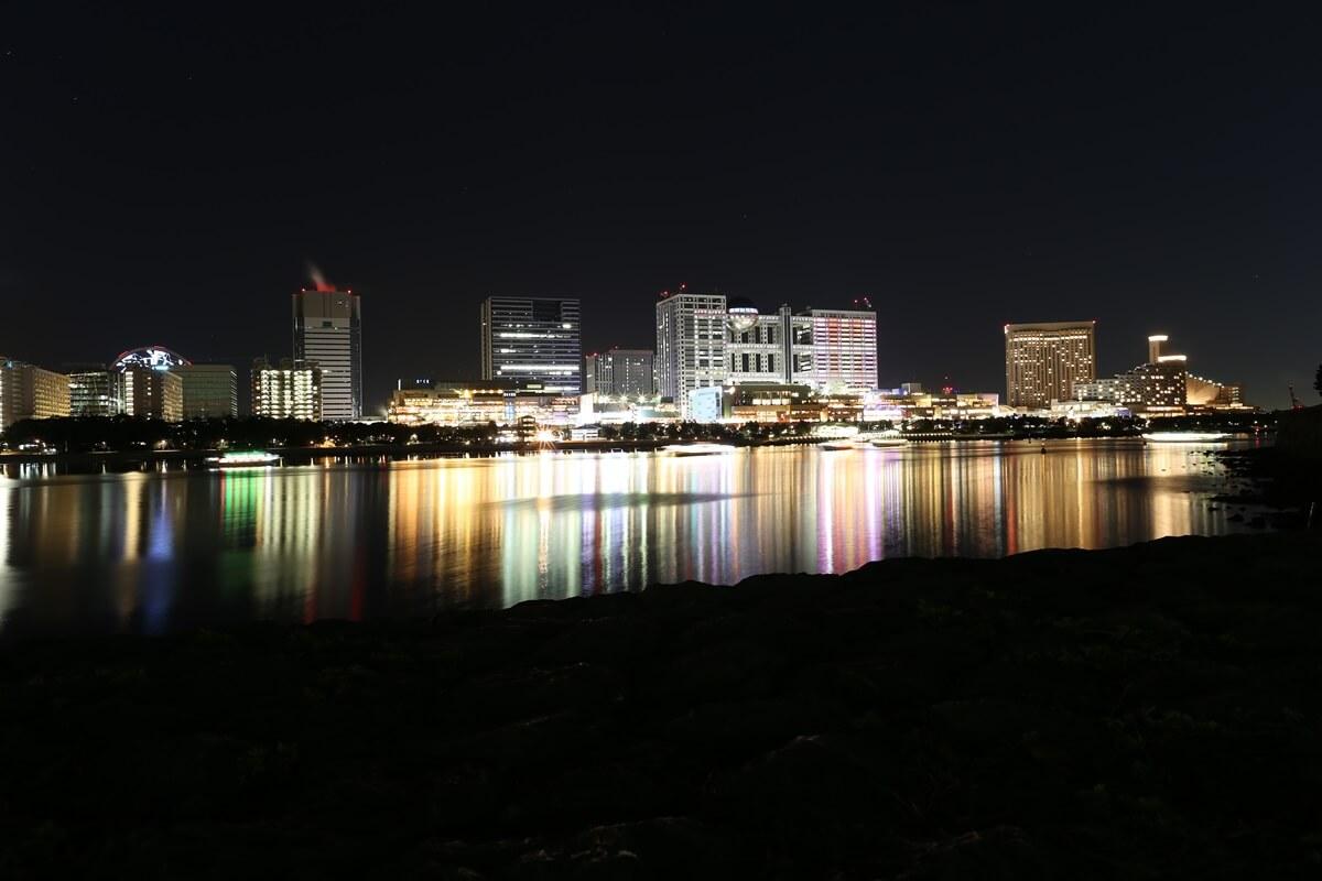 お台場海浜公園の夜景 (5)