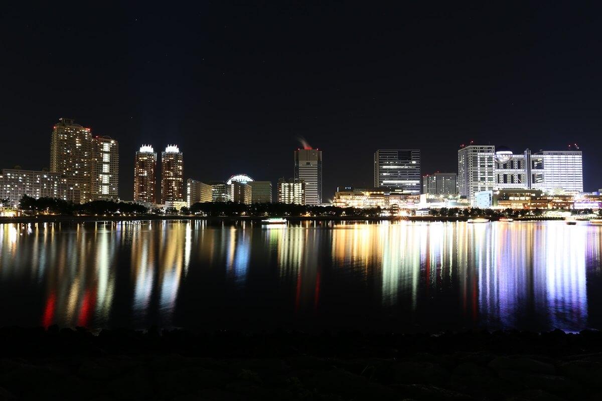 お台場海浜公園の夜景 (6)