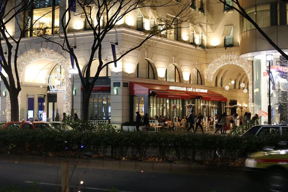 アニバーサリーカフェ表参道 omotesando (2)